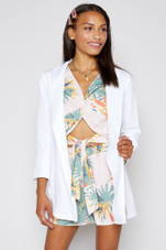 Come Ashore Linen Jacket