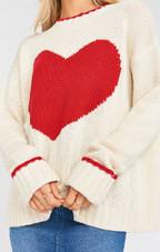 Knit Sweetheart Sweater