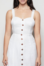 Good American - Tie Bustier Dress at L.A. Green