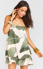 Christy Dress - Queen Palms