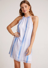 Fray Halter Dress