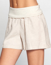Fold Over Shorts