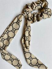 Designer Inspired Scrunchie Scarf