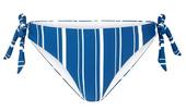 Navy Striped Sophia Bikini Bottoms