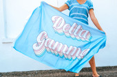 Sorority Retro Flag