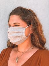 Heather Grey Face Mask