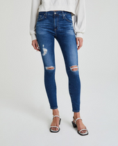Farrah Skinny Ankle Jeans - 8 Years Parallel Destructed