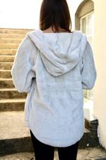 Double Plush Over-Sized Cozy Jacket