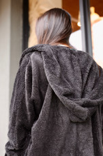 Forever Fluffy Open-Front Jacket One Size