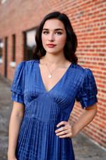 Marvella Dress Blue