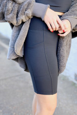 High Waisted Biker Shorts
