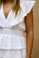 Sweet Ruffle Mini Dress