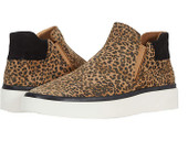 Vinni Sneaker Tan/Black Leopard Suede