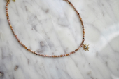 CZ Glimmer Choker with Charm