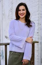 Wilt Flare Sleeve Pullover