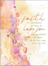 Faith is Confidence Bible Companion Journal