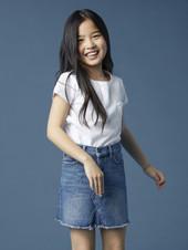 Tween Girls Raw Jenny Mini Skirt