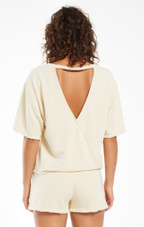 Calla Open Back Washed Pullover
