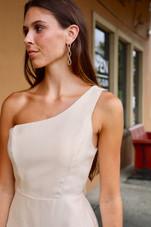 The Golden One Shoulder Pref Dress