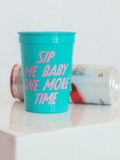 Sip Me Baby One More Time Plastic Cup - 2 Pack