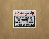 Ur Workout Sticker