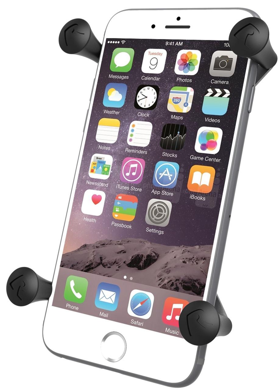 Ram Mounts X-Grip Cell Phone GPS Cradle w// Handlebar Control U-Bolt