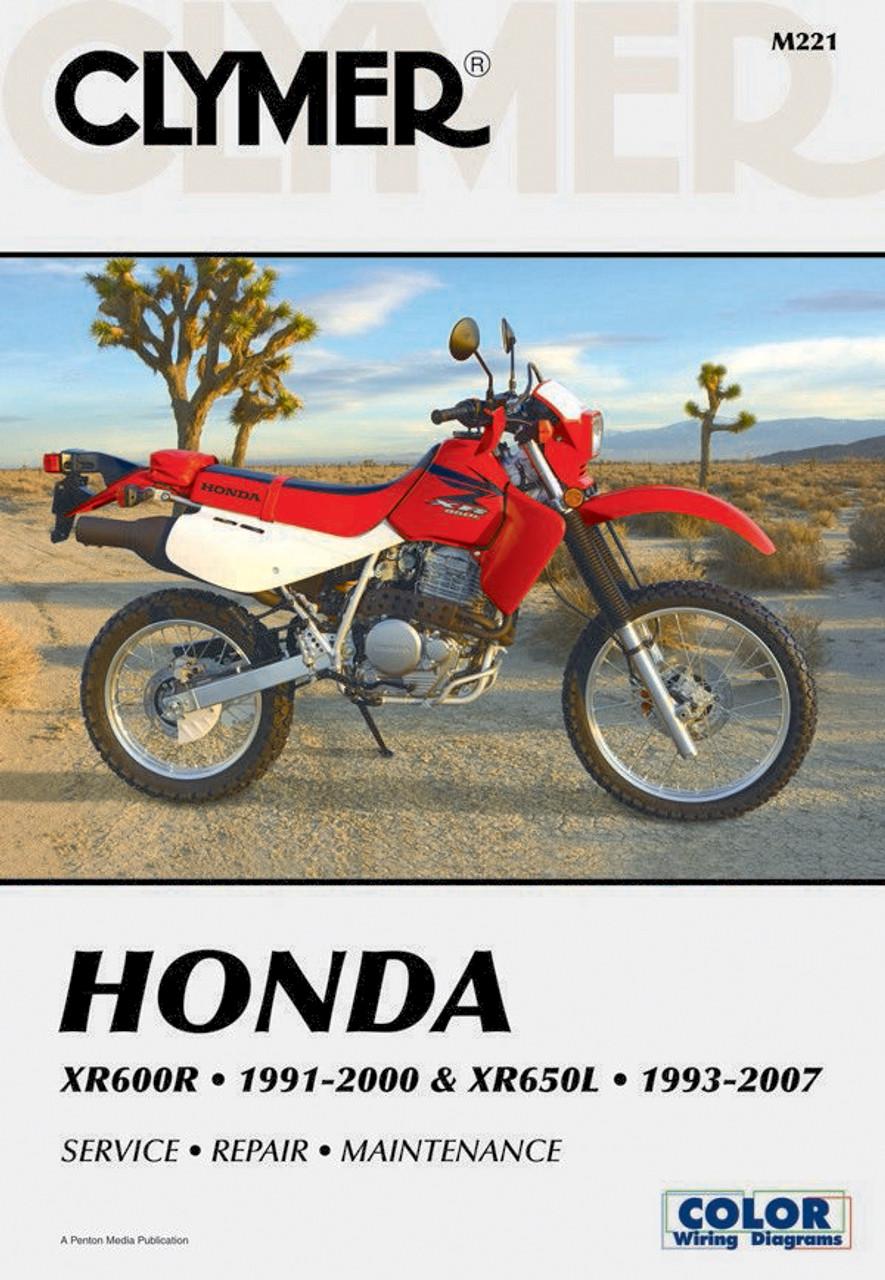 XR100R CRF80F & CRF100F SERVICE MANUAL M222 1992-2009 CLYMER HONDA ...