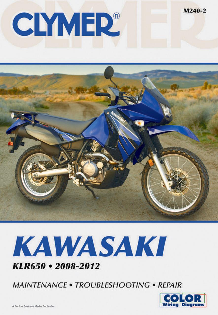 Clymer Manual M240: Kawasaki KLR650 (2008-2017) on