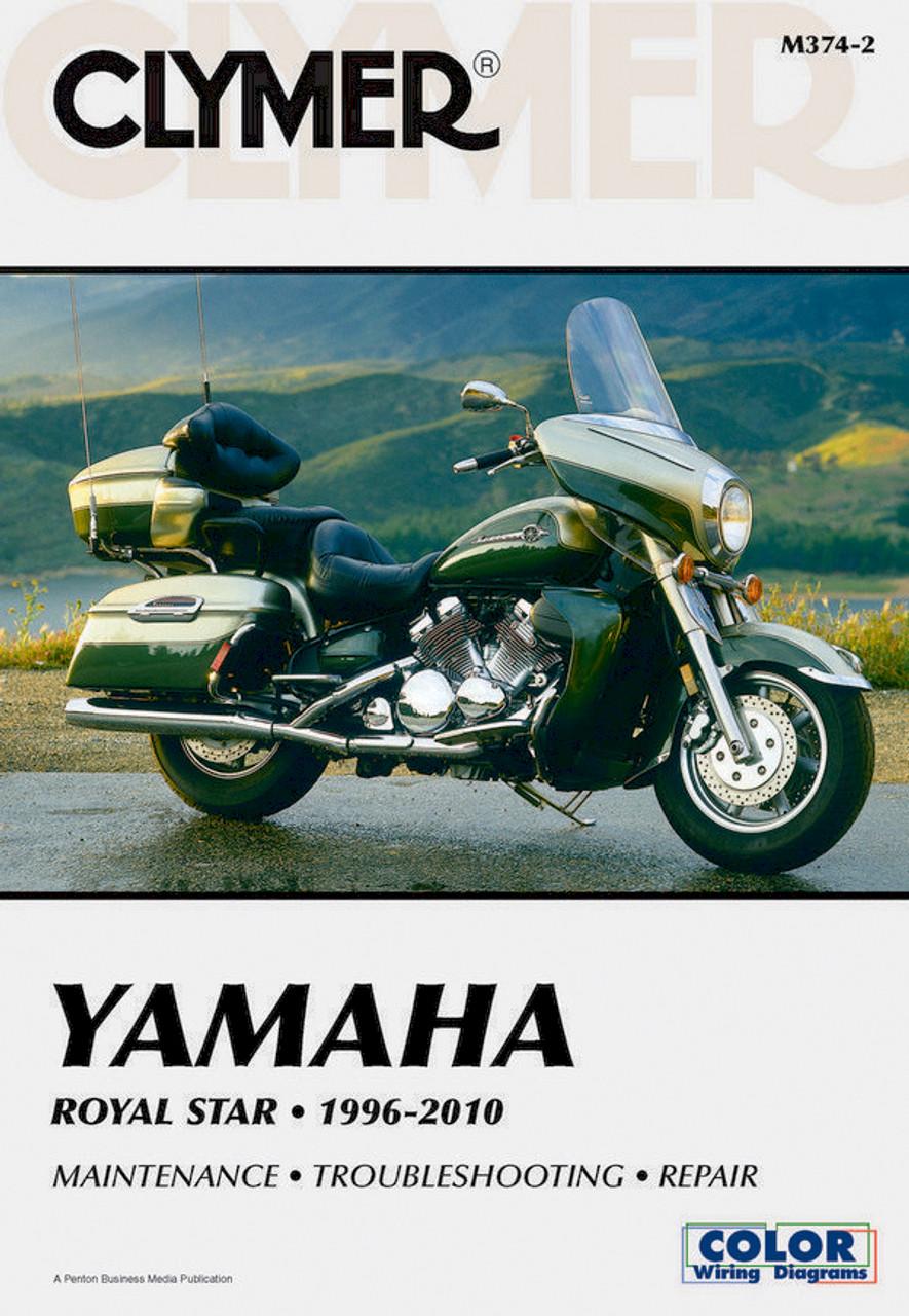 1999-2009 Yamaha Royal Star Venture Maintenance /& Repair Manual Pro