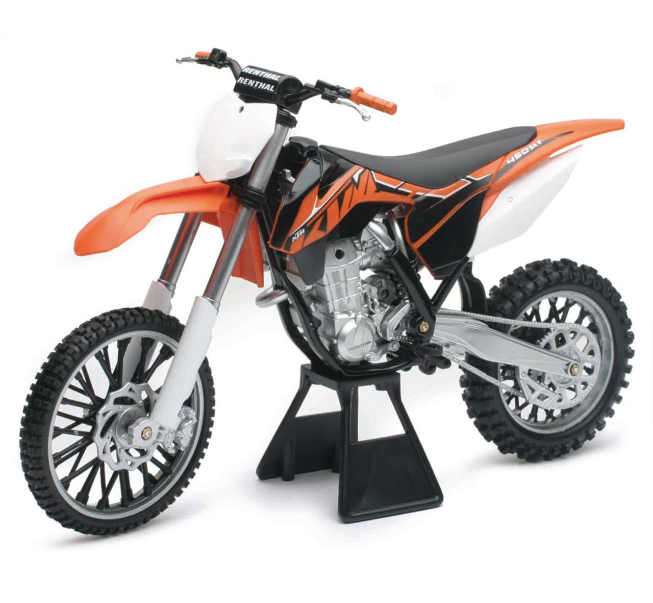 1 6 Scale Ktm 450sx F Dirt Bike Toy Diecast Toy New Ray Toys