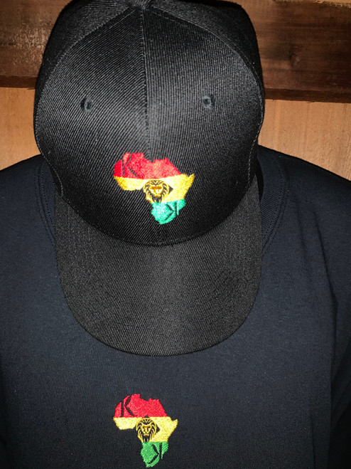 "Afrocentric Designer Hat  ""We Originate and Never Imitate"" ""A Step Above"" ""Set A Part"""