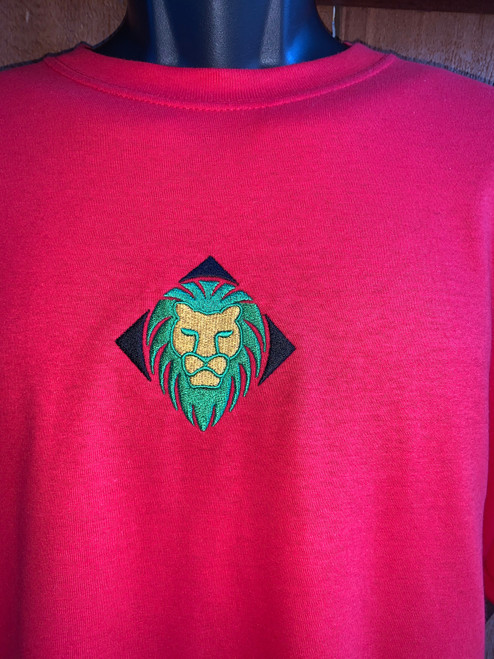Y.A.M.P Specialty Multi Logo Red T