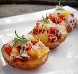 Chorizo Stuffed Potato Bites