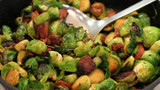 Smokey Chorizo & Brussels Sprouts