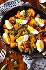 Spanish Chorizo Potato Salad