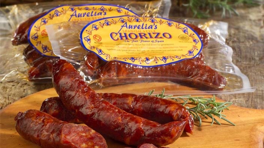 Authentic Artisan Spanish Chorizo.