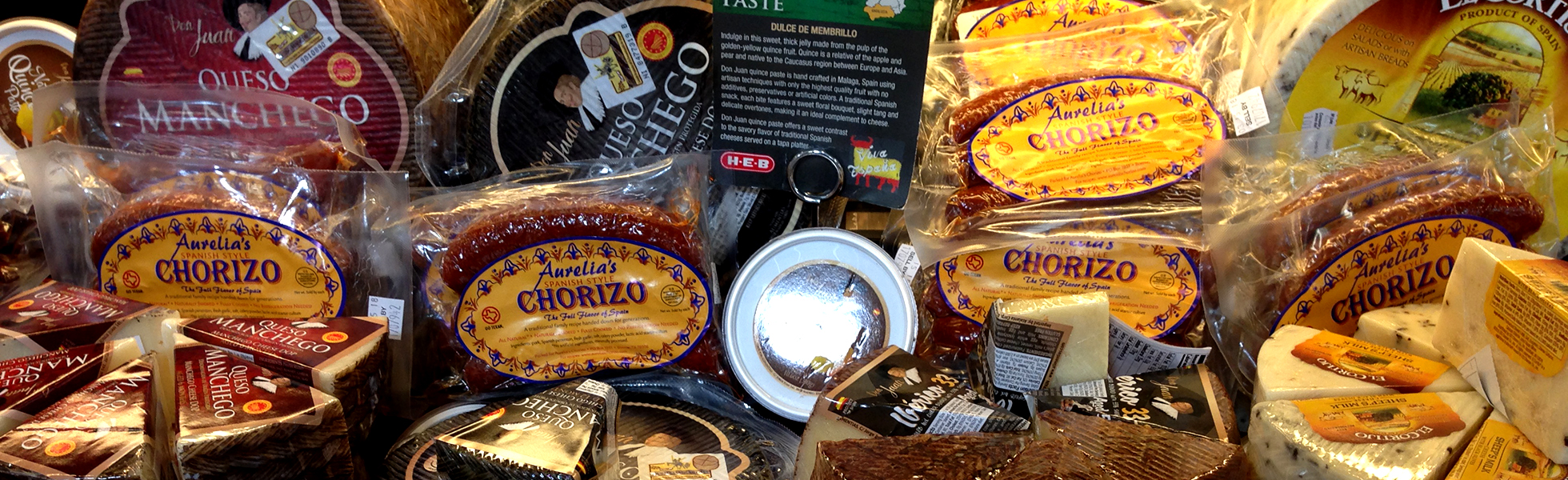 Find Aurelia's Chorizo in the Deli Department along with other Spanish products at your favorite grocer.