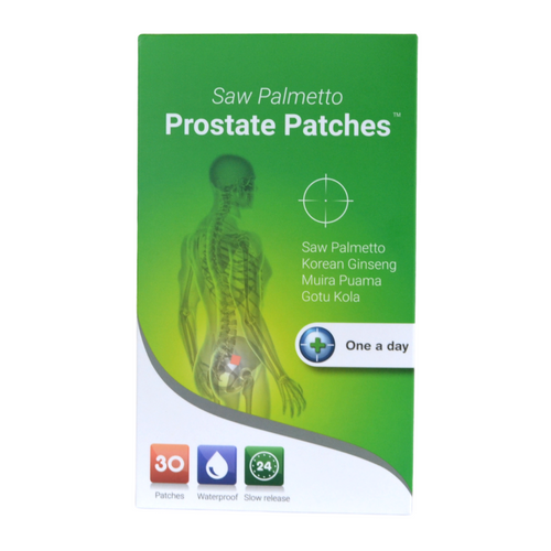 Saw Palmetto prostate patch