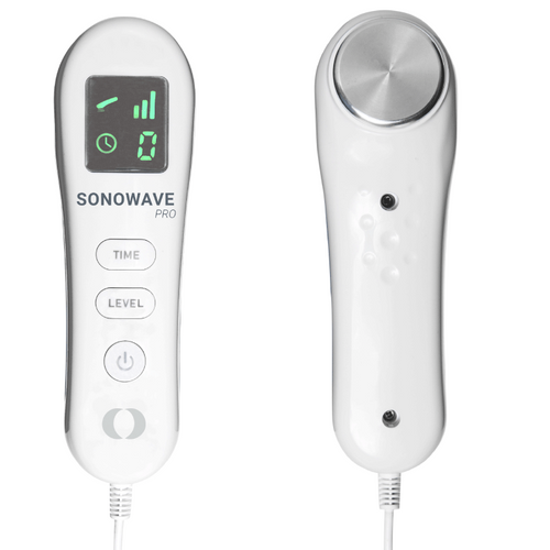 Sonowave ultrasound handheld device