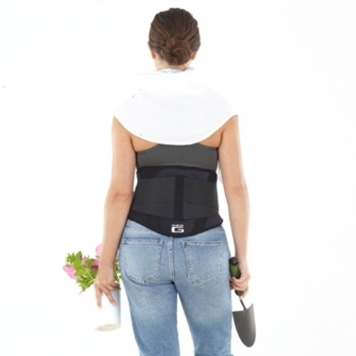 NEO G BACK BRACE IN USE
