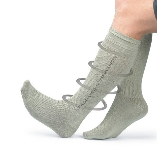 ENERGISOX CIRCULATION SOCK OATMEAL