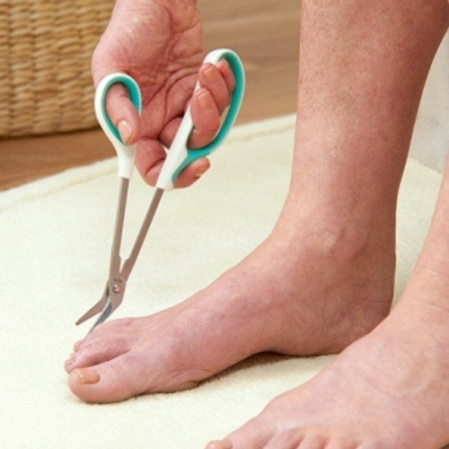 LONG REACH TOE NAIL CUTTER SCISSORS USED ON FEET