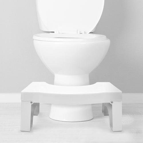 GO BETTER FOLDING TOILET STOOL WITH TOILE