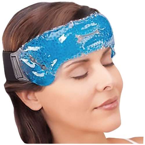 MIGRAINE RELIEF WRAP ON FOREHEAD