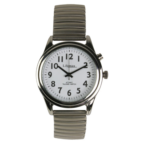 RNIB TALKING ATOMIC WATCH FEMALE EXPANDING STRAP