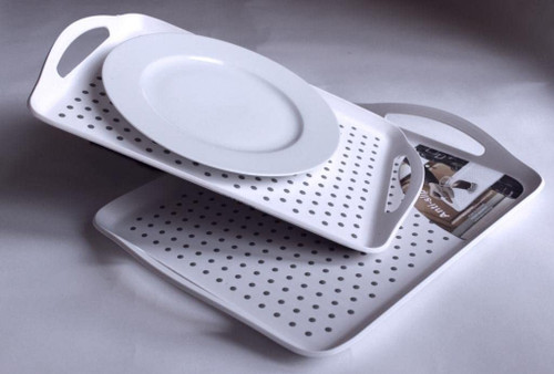STAYPUT TRAY WITH PLATE