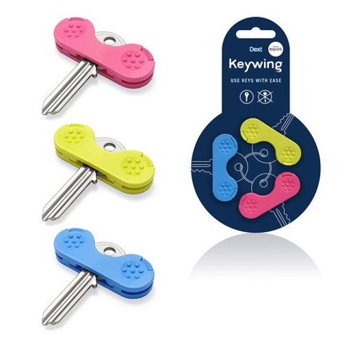 THE KEYWING KEY TURNER PACK OF 3 MULTI COLOUR