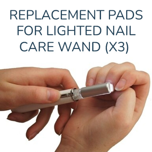 Replacement Pads Lighted Nail Care Wand