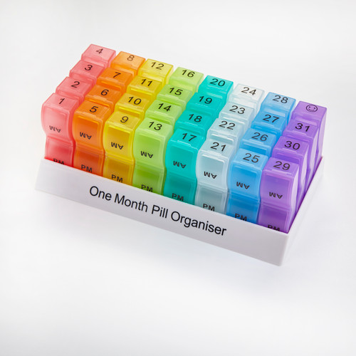 Colourmax One Month Pill Organiser