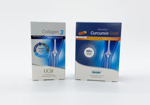 Collagen 3 & Boswellia + Curcumin Gold Bundle